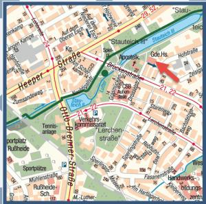 Stadtplan.Apostel-Gemeindehaus