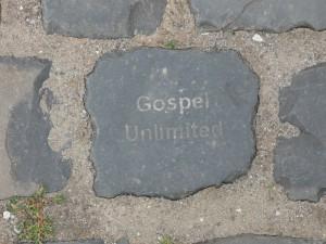 Gospel Unlimited Bielefeld - Unser Stein auf der Sparrenburg in Bielefeld